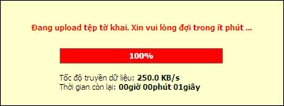 DangUpLoadToKhai Hướng dẫn thủ tục kê khai thuế qua mạng (P1)