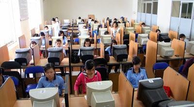 Hoc ke toan may thuc hanh Đào tạo chứng chỉ kế toán thuế tại Hà Nội
