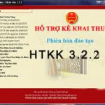 Phần mềm khai báo thuế HTKK 3.2.2