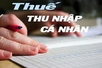thue tncn Hướng dẫn cách tính Thuế TNCN mới nhất 2017