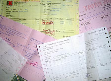 hoa don ban hang Tìm hiểu chứng từ kế toán là gì?
