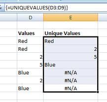 loi n a Một số lỗi phổ biến trong Excel