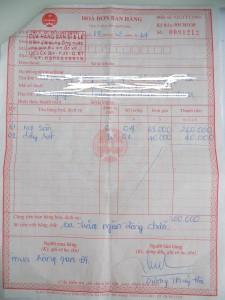 Hoadon 225x300 16 lưu ý khi hạch toán kế toán thuế