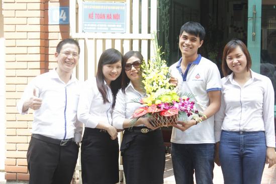 14 Kế toán Hà Nội chào mừng ngày phụ nữ Việt Nam 20 10