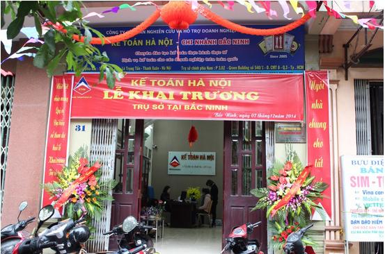 11 Trung tâm kế toán hà nội mở trụ sở tại Bắc Ninh