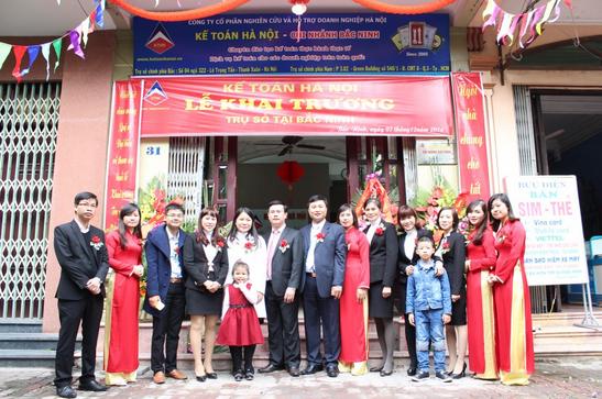 14 Trung tâm kế toán hà nội mở trụ sở tại Bắc Ninh