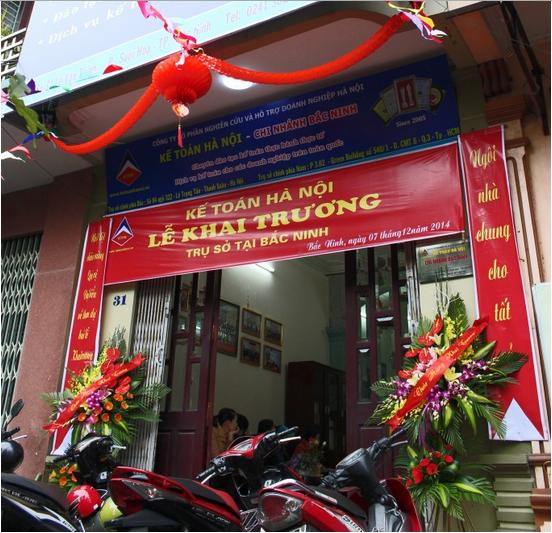2 Trung tâm kế toán hà nội mở trụ sở tại Bắc Ninh