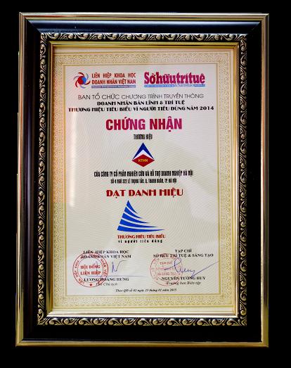 unnamed Kế toán Hà Nội nhận giải thưởng Thương hiệu tiêu biểu vì người tiêu dùng