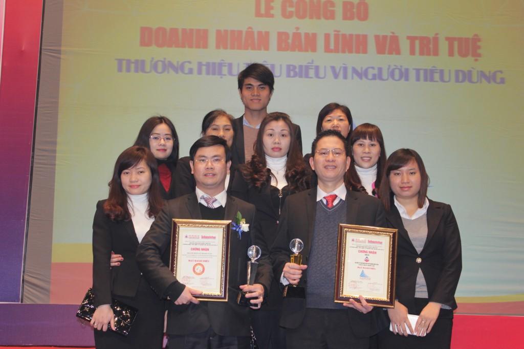 vi nguoi tieu dung 4 Kế toán Hà Nội nhận giải thưởng Thương hiệu tiêu biểu vì người tiêu dùng