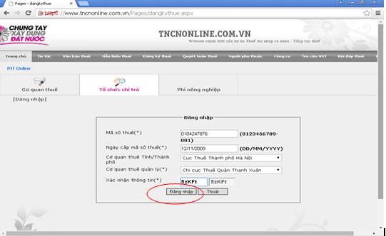 tncn4 Thủ tục đăng ký mã số thuế thu nhập cá nhân năm 2015