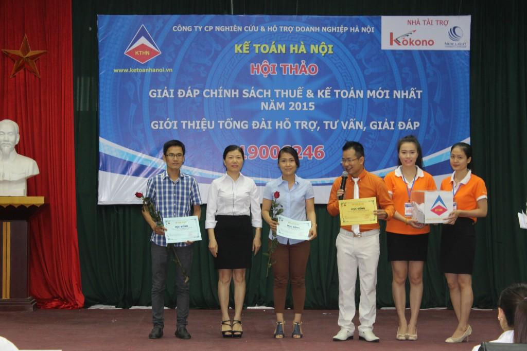 hoi thao 12 Kế toán Hà Nội tổ chức hội thảo Giải đáp chính sách thuế và kế toán mới nhất năm 2015