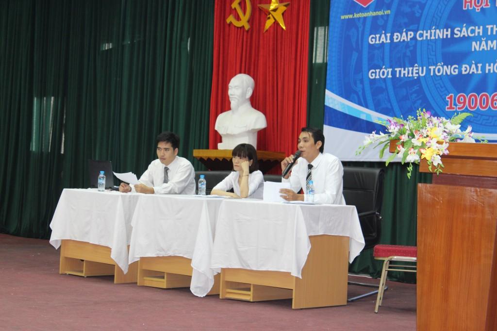 hoi thao 8 Kế toán Hà Nội tổ chức hội thảo Giải đáp chính sách thuế và kế toán mới nhất năm 2015