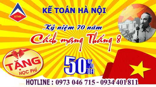 uu dai hoc phi t81 Kế toán Hà Nội giảm 50% học phí tháng 8 2015