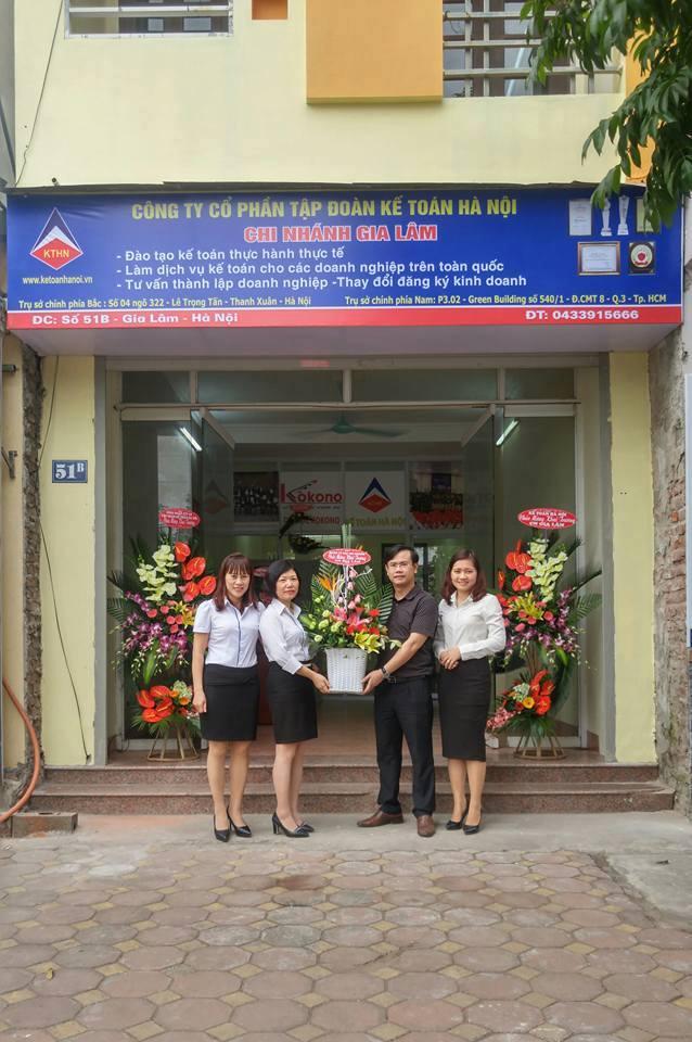 kthn CN Gia Lam 6 Tập đoàn Kế toán Hà Nội khai trương chi nhánh Gia Lâm