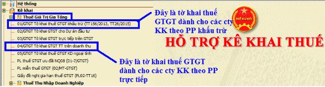 ke khai thue gtgt 1 Hướng dẫn kê khai thuế GTGT theo tháng và theo quý 2017