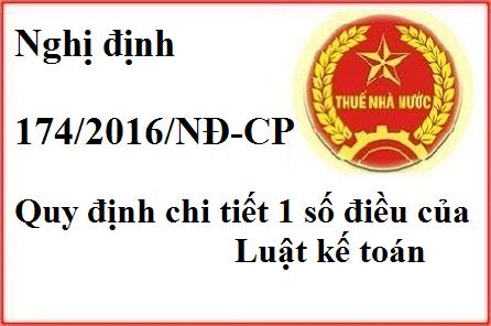 ND174 2016 Nghị định số 174/2016/NĐ CP của Chính phủ