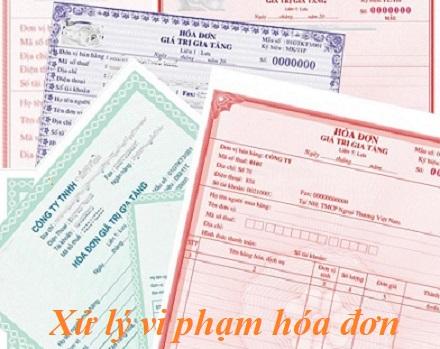 xu ly hoa don vi pham So sánh xử lý vi phạm về hóa đơn TT10/2014 và TT 176/2016