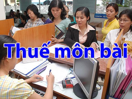 thuemonbai Miễn lệ phí môn bài 3 năm đối với doanh nghiệp vừa và nhỏ