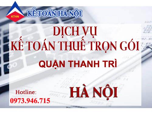 dich vu ke toan thue tron goi tai thanh tri Dịch vụ kế toán thuế trọn gói tại Thanh Trì, Hà Nội giá rẻ
