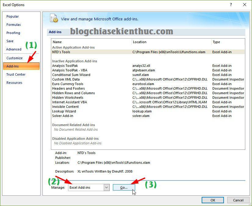 cach chuyen doi so thanh chu trong excel 9 Hướng dẫn cách chuyển số thành chữ trong Excel dễ dàng nhất