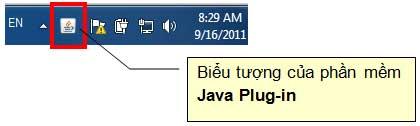 BieuTuongJavaPlugin Hướng dẫn thủ tục kê khai thuế qua mạng (P1)