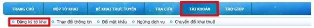 ChonDangKyThemToKhai Hướng dẫn thủ tục kê khai thuế qua mạng (P2)