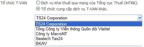 ChonToChuTvan Hướng dẫn thủ tục kê khai thuế qua mạng (P1)