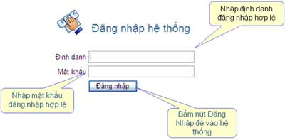 DangNhapHeThongiHTKK Hướng dẫn thủ tục kê khai thuế qua mạng (P1)