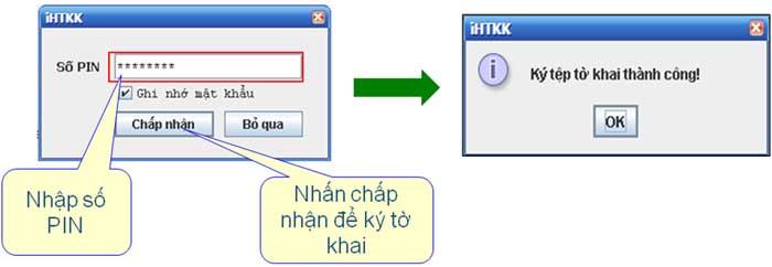 NhapPinKyThanhCong Hướng dẫn thủ tục kê khai thuế qua mạng (P1)