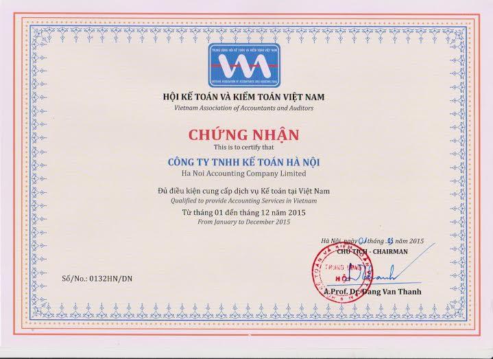 chungnhanhanhnghe Dịch vụ quyết toán thuế