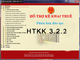 htkk322 Nâng cấp phần mềm khai báo thuế HTKK mới nhất v3.2.2