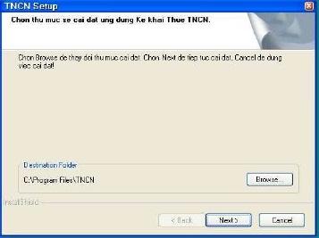 huong dan cai dat tncn2 6 11 Giới thiệu phần mềm hỗ trợ đăng ký mã số thuế TNCN 2.6