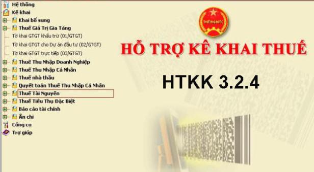 htkk324 Tải HTKK 3.2.4 và iHTKK 2.3.4 mới nhất theo thông tư số 39/2014/TT BTC