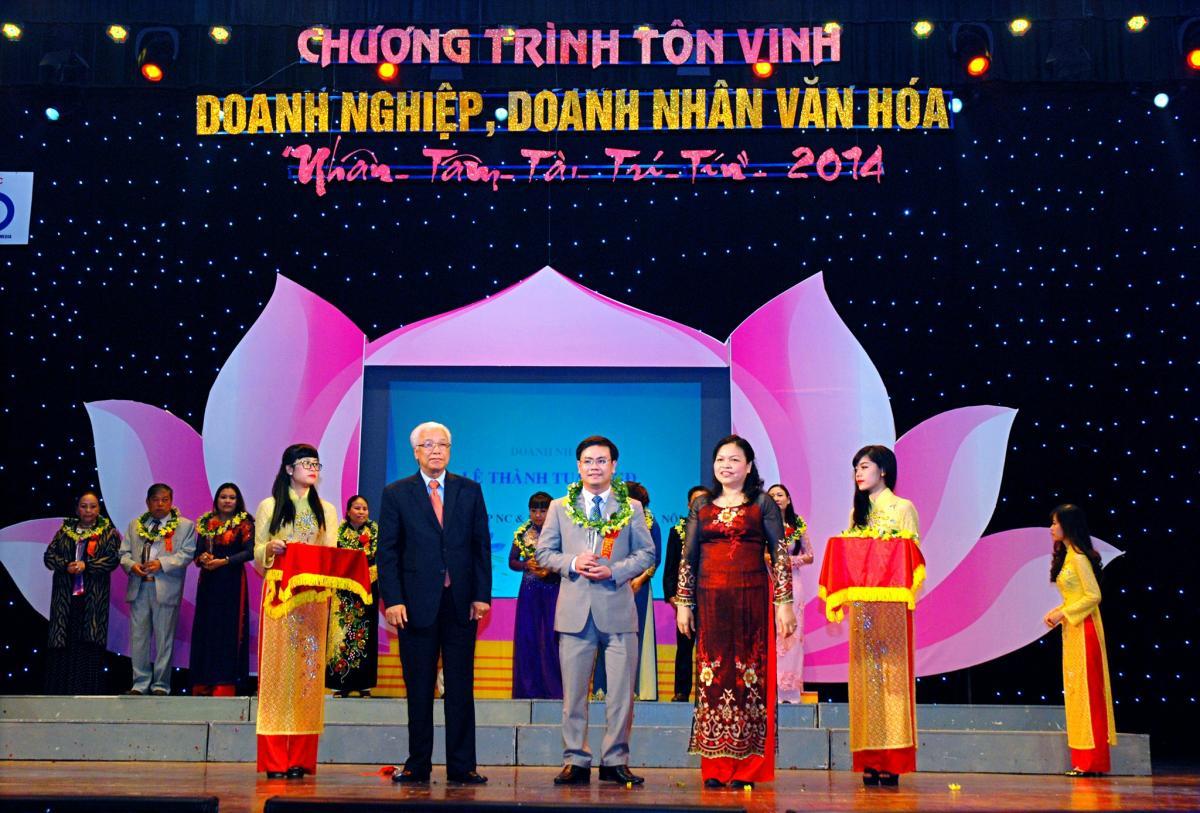 ke toan ha noi 0 KTHN nhận danh hiệu Bảng vàng doanh nghiệp văn hóa 2014