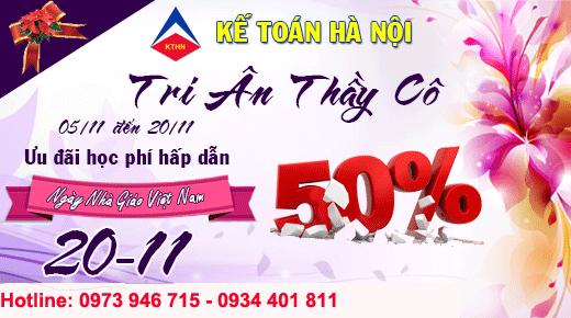 tri an thay co 1 Chào mừng ngày nhà giáo Việt Nam 20/11 giảm 50% học phí