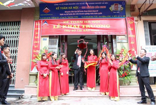 12 Trung tâm kế toán hà nội mở trụ sở tại Bắc Ninh