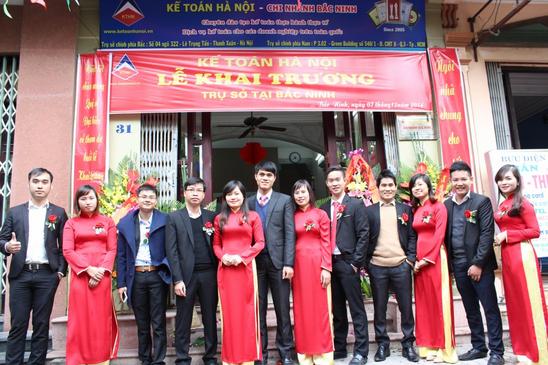 13 Trung tâm kế toán hà nội mở trụ sở tại Bắc Ninh