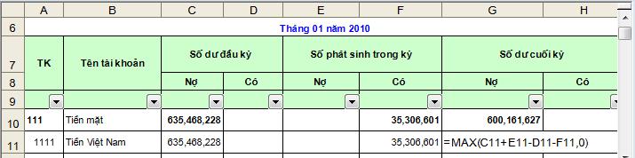 cach lap bang tong hop nhap xuat ton kho trn excel  Hướng dẫn cách lập các bảng biểu cuối tháng trên Excel