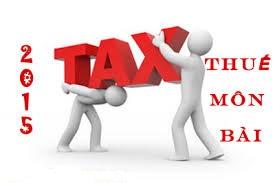 thue mon bai Hướng dẫn cách kê khai thuế môn bài 2016   Kế toán Hà Nội