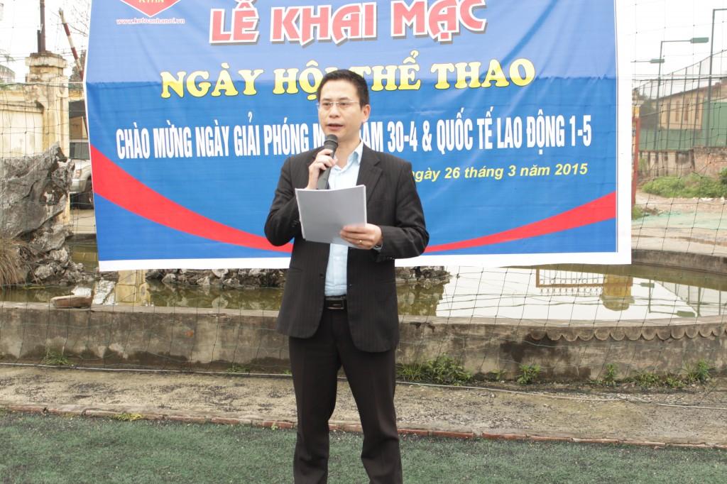 bd2 Kế toán Hà Nội khai mạc ngày hội thể thao chào mừng 30 4 & 1 5