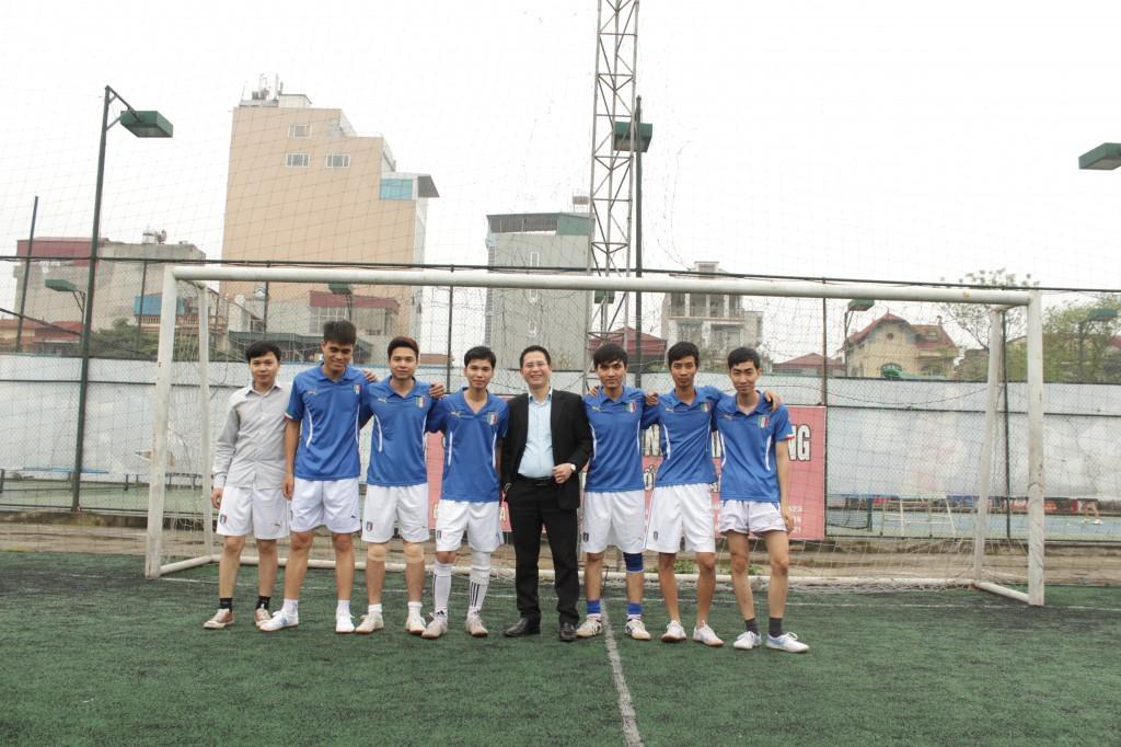 bd6 Kế toán Hà Nội khai mạc ngày hội thể thao chào mừng 30 4 & 1 5