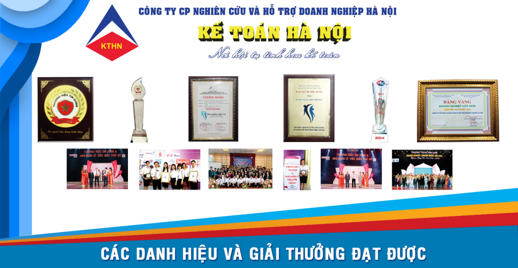 cac danh hieu dat duoc 2 1024x530 Khóa học thực hành kế toán tổng hợp tại Hà Nội