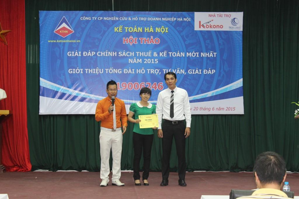 hoi thao 10 Kế toán Hà Nội tổ chức hội thảo Giải đáp chính sách thuế và kế toán mới nhất năm 2015