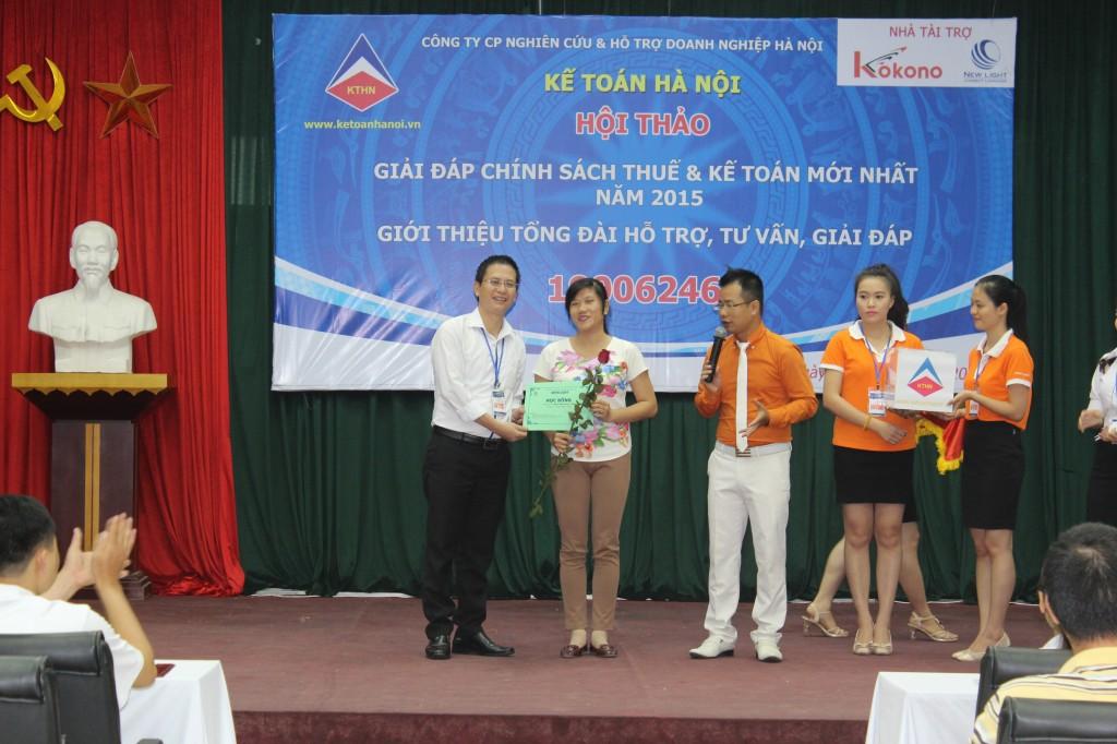 hoi thao 11 Kế toán Hà Nội tổ chức hội thảo Giải đáp chính sách thuế và kế toán mới nhất năm 2015