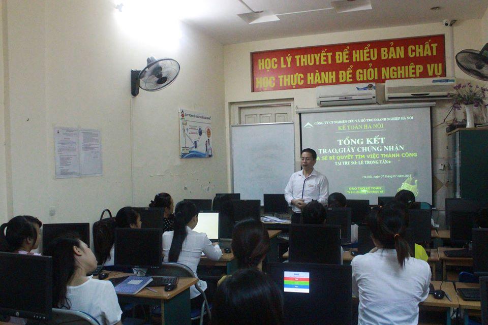 tongket Khai trương trung tâm kế toán tại Hoàng Mai giảm học phí cực sốc