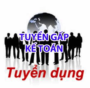 tuyen ke toan tong hop Tuyển nhân viên kế toán tổng hợp làm việc tại Hà Nội