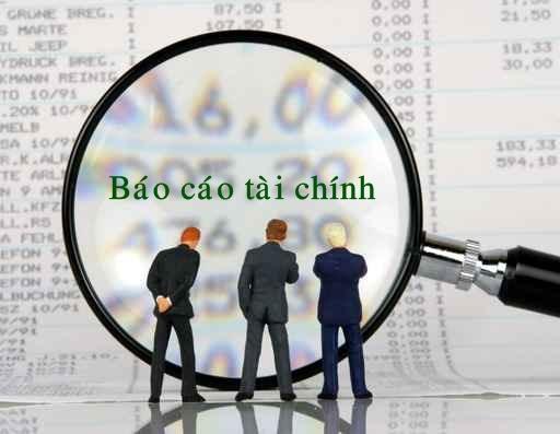 bao cao tai chinh Khóa học lập BCTC và quyết toán thuế