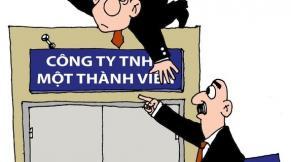 ctytnhh1thanhvien Luật công ty TNHH 1 thành viên
