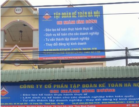 KG BD 1 Kế toán Hà Nội khai trương cơ sở tại Bình Dương