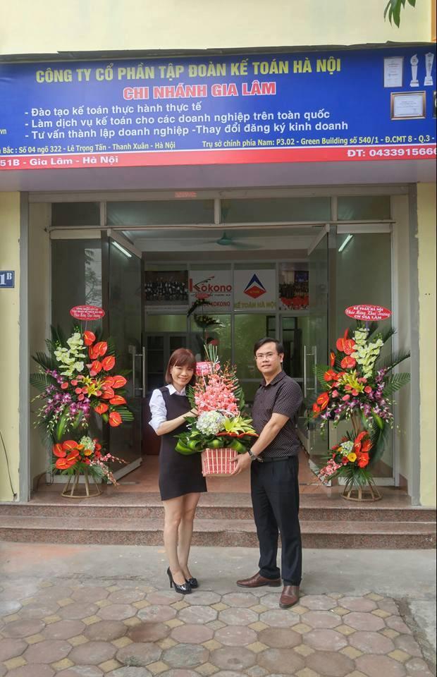 kthn CN Gia Lam 4 Tập đoàn Kế toán Hà Nội khai trương chi nhánh Gia Lâm